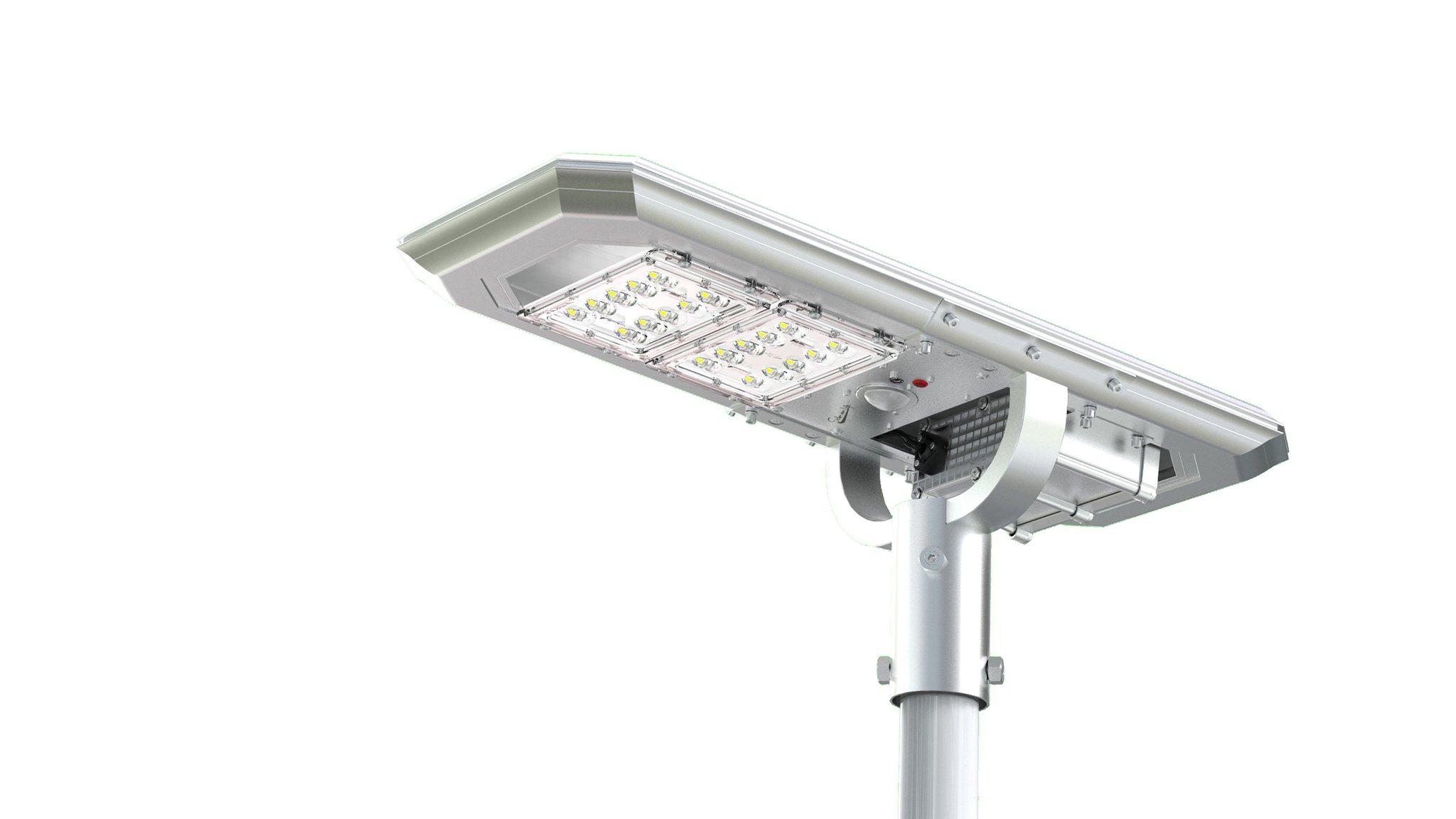 solar led fixture, high lumens