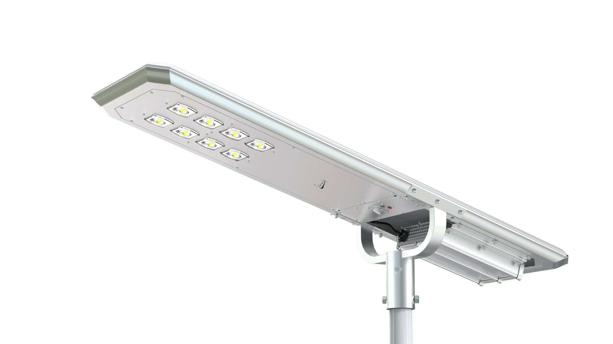 7000 LUMEN SOLAR LED STREET / POLE LIGHT.
